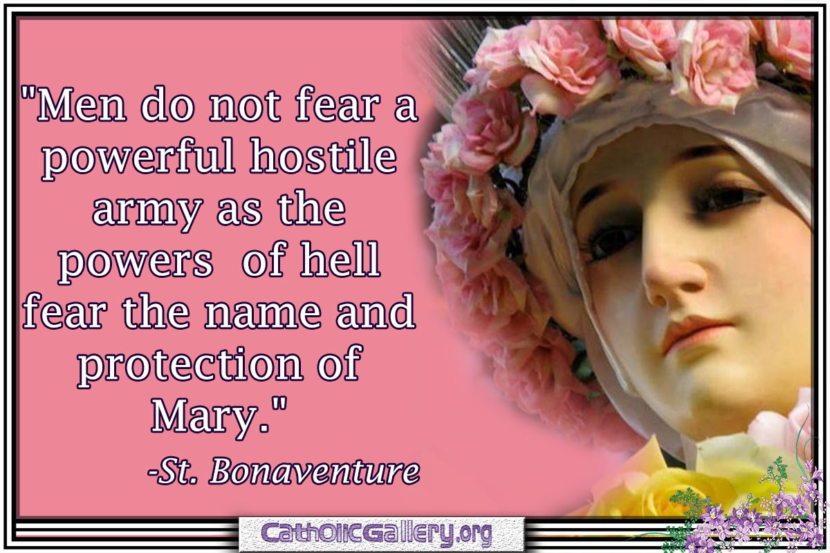 Quotes About Mary Page 1 Catholic Gallery