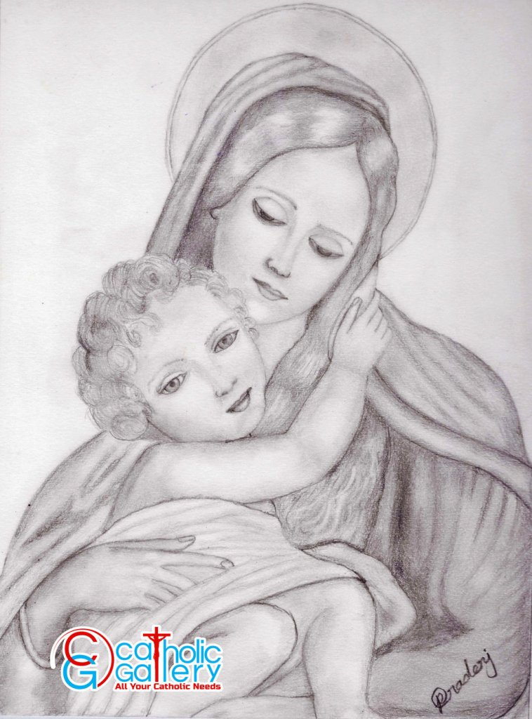 Mama Mary and Baby Jesus