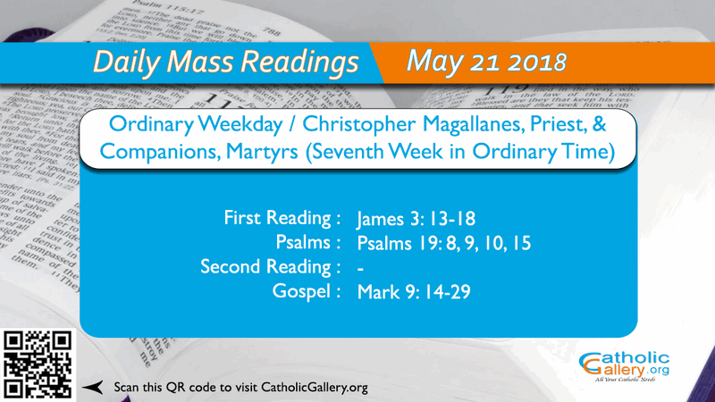 125d0cb5570b2d Daily Mass Readings – 21 May 2018 – Monday