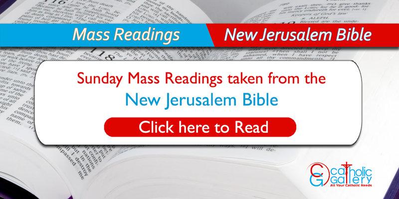 Catholic Mass Readings - Sunday - New Jerusalem Bible
