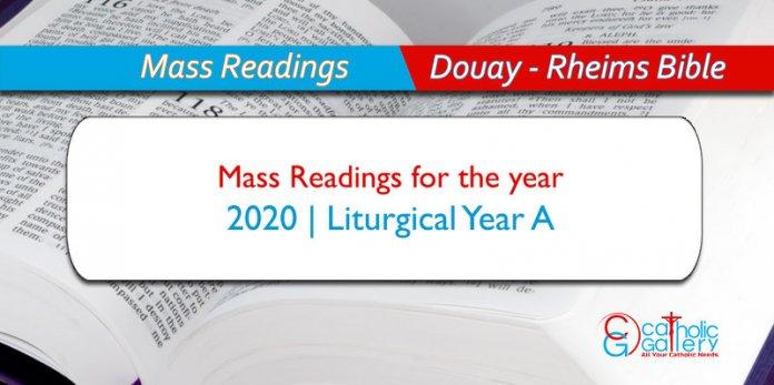 January 7, 2020 Liturgical Calendar Daily Mass Readings – 2020   Catholic Gallery