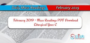 Download Mass Readings December 2020 Catholic Gallery