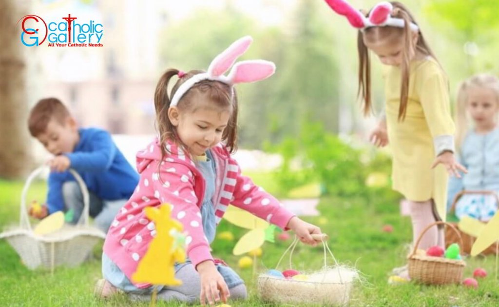 Involve the Kids with Easter Activities.